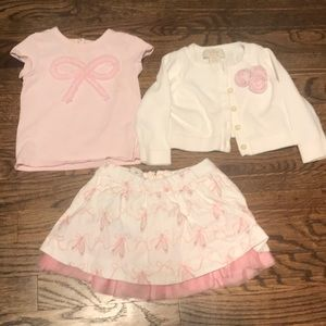 Kate Spade 6 month 3-piece outfit!